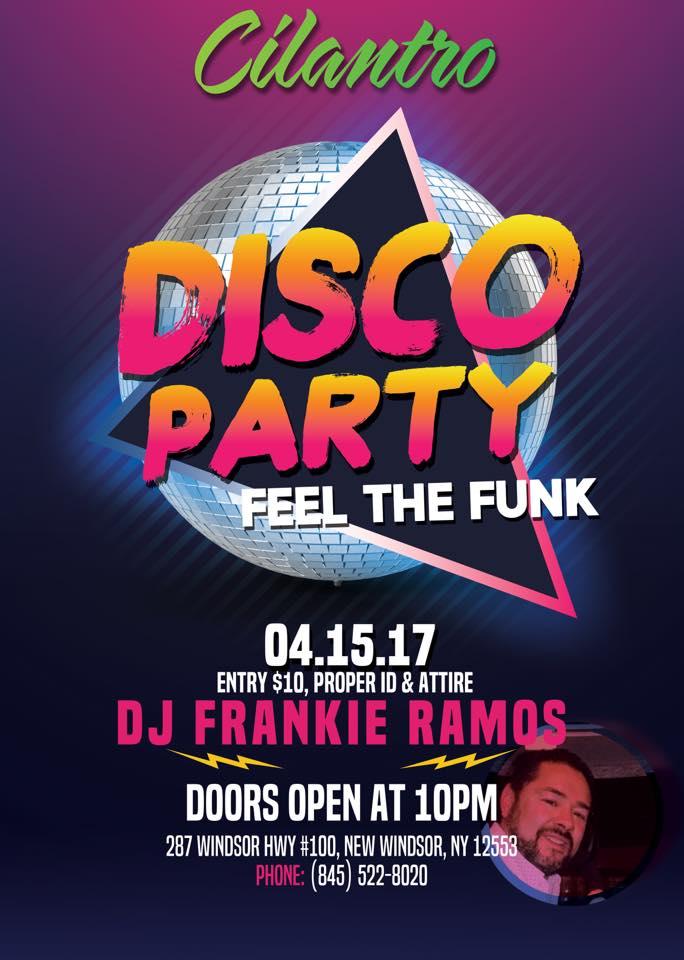 cilantros disco dance party