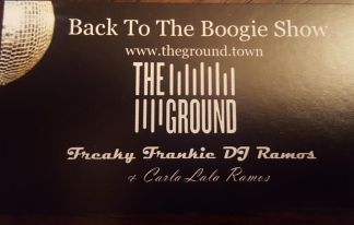 back to the boogie business card